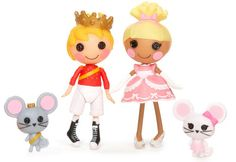 Mini Lalaloopsy - Prince Handsome & Cinder Slippers