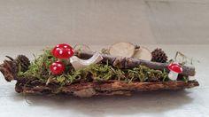 """Herbst - Minigesteck/ Gesteck  """"Glückspilz""""  - ein Designerstück von My-Sweet-Bambiente bei DaWanda"""
