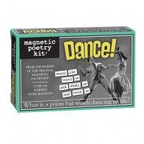 Fridge Magnetic Poetry Kit | Dance!