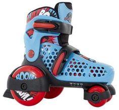 SFR Stomper Boys/girls/junior Adjustable Quad Starter Roller Skates 07-09 Child