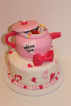Emma's baby shower cake