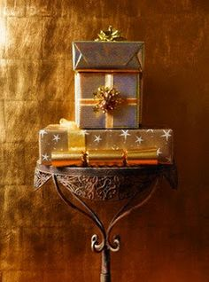 Three Gifts for Christmas - Gold - the gift of wonder, Frankincense - the gift of meaning & Myrrh- the gift of usefulness