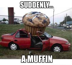 There's a social media platform specifically for cars now. Set up a profile at CarLister.co muffin, humor, car, funny