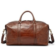 1f98b4e3b8a5 Fossil Campbell Weekender Mbg9285 (€395) ❤ liked on Polyvore featuring  men s fashion Mens