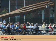 """On the 13th anniversary of the 9/11 terror attacks to our homeland, Citadel employees remember those lost by donating their time to the Graystone Society in Coatesville as locals remember Lukens Steel's production of the """"Steel Trees"""" that built the World Trade Center towers in New York."""