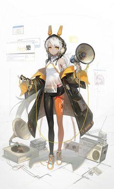 Fantasy Character Design, Character Design Inspiration, Character Art, Anime Art Girl, Manga Girl, Cyberpunk Anime, Android Art, Digital Art Tutorial, Panel Art