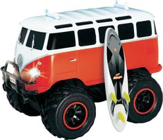 Dickie Toys VW T1 Wheely-bus bestuurbare auto
