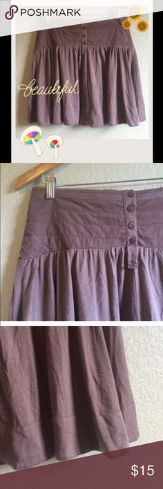 🦄 3 for $20! Adorable Anthropologie Skirt 💜The brand is Lux which is sold at both Anthropologie & Urban Outfitters (they are sister companies). Waist=30 in has Stretch waist band that can + some needed inches. Length is 19 inch. Light mauve purple color. Cute alone or paired w/tights, boots & a cardigan for cooler seasons. Great condition. This item in addition to any other item in my closet marked with the 🦄 sign is only 3 for $20! check out my other items with the 🦄 & let me know if…