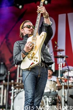 Rival Sons at the 2015 Rock On The Range | See The Muzic