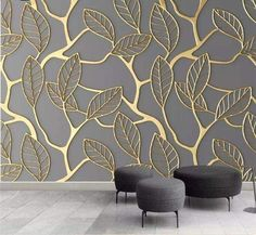 Custom Photo Wallpaper For Walls Stereoscopic Golden Tree Leaves Living Room TV Background Wall Mural Creative Wall Paper - AliExpress Photo Wallpaper, Wall Wallpaper, Wallpaper For Living Room, Custom Wallpaper, Leaves Wallpaper, 3d Wallpaper Designs For Walls, Wallpaper For House, Tree Wallpaper Texture, Wallpaper With Gold