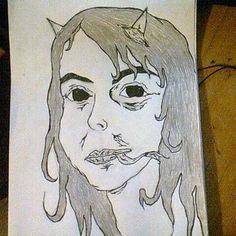 Monster portrait of me
