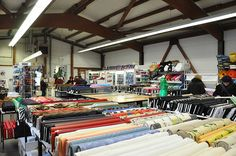 Fabric shop in Kaiserslautern:  Stoff- Centrum just south of Ramstein.  German Fabric/buttons  Denisstrasse 22, 67663 Kaiserslautern (Tele 0631-50520)  Near Globus and Toys R Us