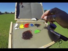 Color Mixing Exercises - Creating Outdoor Color Note Studies #acrylicpaintingtips