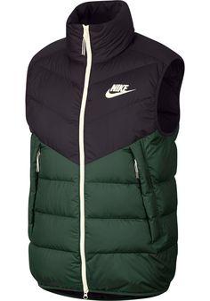 Nike Men's Sportswear Windrunner Down Vest Mens Down Vest, Fashion Magazines Uk, Windrunner Jacket, Quilted Vest, Fashion Night, Puffer Vest, Nike Sportswear, Nike Men, Mens Fashion