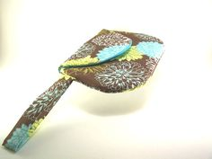 Hey, I found this really awesome Etsy listing at https://www.etsy.com/listing/201421154/brown-clutch-brown-purse-with-blue