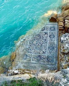 Mosaic after the flood at the ancient Hellenistic town of Zeugma. Ancient City on the Euphrates Ancient Mysteries, Ancient Ruins, In Ancient Times, Ancient Artifacts, Ancient Rome, Ancient Greece, Ancient History, European History, American History