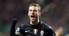 Claudio Marchisio celebrates after firing Juventus into a lead with 13 minutes remaining. After enduring a barrage of Celtic pressure, Marchisio rounded off an incisive move to inflict further damage upon the home side. Celtic Champions League, Rugby, Claudio Marchisio, Transfer Rumours, Soccer Pictures, Football, Liverpool, Victorious, Crushes