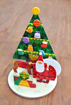 POP UP クリスマスカード / Tomoko Suzuki