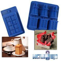 Doctor Who Tardis and Dalek Molds – as low as $4.96 shipped