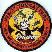 VFA-31 patch, one of several.