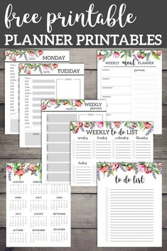Floral Monthly Planner Template Pages Free Printable Free printable floral planner including daily and weekly planner pages, to do list, meal planner, calendar, and weekly to do list. Floral Monthly Planner Template Pages Free Printable Printable Day Planner, Monthly Planner Template, To Do Planner, Weekly Meal Planner, Printable Paper, Schedule Templates, Happy Planner, Calendar Printable, Meal Planner Calendar