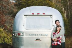 vintage airstream honeymoon, yes. :)