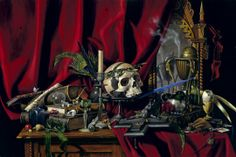 "B.A.Vierling 'Vanitas' The Latin word means ""vanity"" and loosely translated, corresponds to the transient nature of all earthly goods and pursuits."