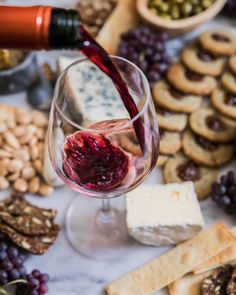 How to celebrate your ? 🎉 Enjoy a glass of 🍷 from Château Bonnet and crakers from Alcoholic Drinks, Beverages, French Food, Wine Country, Red Wine, Homemade, Celebrities, Glass, Instagram