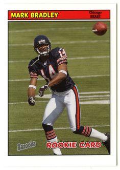 Mark Bradley RC # 203 - 2005 Topps Baz Football NFL Rookie