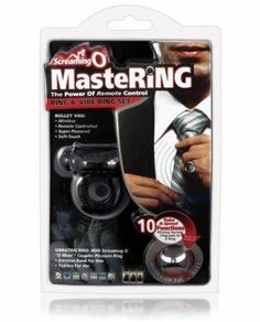 Screaming o mastering - remote o wow by Bushman products. $34.47. Be the master of pleasure with the new Screaming O MasteRing O Wow, a multifunction remote-controlled bullet vibe secretly operated by a discreet finger ring from up to 50 feet away! With just one touch the MasteRing Bullet will buzz at one of 10 powerful vibration functions to tease, please and make her plead for more - and you control what happens next! Each MasteRing bullet features a silky soft-coat su...