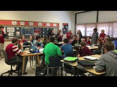 Cathedral High School Students singing a holiday song - YouTube