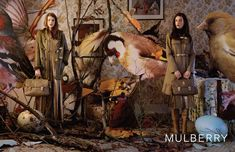 Smartologie: Mulberry Fall/Winter 2011/2012 Campaign