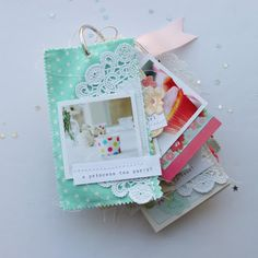 stephanie makes: mini albums