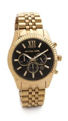 Michael Kors Oversized Lexington Watch... Love this