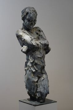 Sans titre - bronze - 105 cm by Catherine Thiry #sculpturactgallery #sculpture #catherinethiry #contemporarysculpture