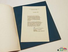 Metropolitan Museum of Art, Rare 1970 Anniversary Booklet with Original #Letter, #MetMuseum #Centennial #TheMet100th #ArtHistory #MuseumHistory #Vintage