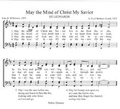 Church Music: Find charts for hymns