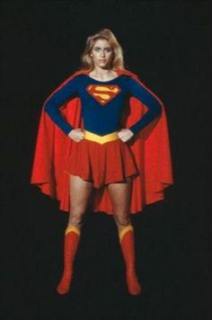 Helen Slater as Supergirl Supergirl Movie, Supergirl 1984, Batwoman, Batgirl, Helen Slater Supergirl, Lady Sif, Comic Book Girl, Tv Girls, Movie Marathon