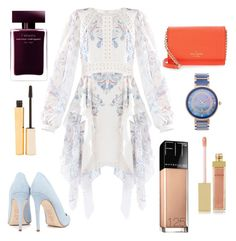 """Pretty People"" by katherine-eileen-lariscy on Polyvore featuring BCBGMAXAZRIA, Dee Keller, Kate Spade, Porsamo Bleu, AERIN, Maybelline and Stila"