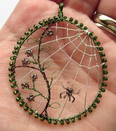 Autumn Morn (sold) | To illustrate that the cobweb does show… | Flickr