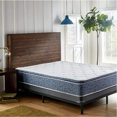 ERGONOMIC SUPPORT: Memory foam responds to your body's weight for customized support by conforming to your curves to eliminate pressure points and increase comfort. Pillow Top Mattress, Queen Mattress, Foam Mattress, Cushion Pillow, Mattress Pad, Box Bed, Comfort Mattress, Mattress Springs, Plush Pillow