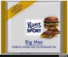 Ritter Sport - Big Mac | Lustige Bilder, Sprüche, Witze, echt lustig