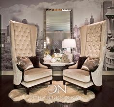 Luxury design -    Sitting Area   -   Charles Neal Interiors -