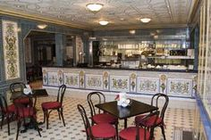 #Cozy museum cafe, inspired by the infamous #Dresden Milchläden