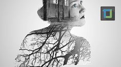 how to create double exposure in photoshop tutorial   photo effect [Epis...