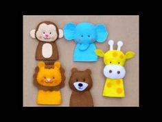 Membuat Boneka Jari Dari Kain Flanel - YouTube