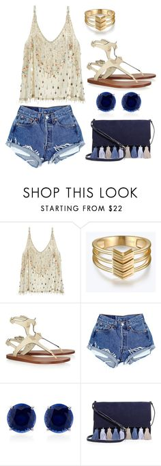 """""""Untitled #8563"""" by beatrizibelo ❤ liked on Polyvore featuring Calypso St. Barth, Valentino, CARAT* and Rebecca Minkoff"""