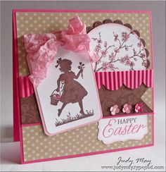 Mojo Monday Easter Wishes Card Making Inspiration, Making Ideas, Easter Wishes, Easter Card, Beautiful Handmade Cards, Pretty Cards, Cool Cards, Kids Cards, Creative Cards