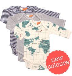 Organic cotton, Long Sleeve Bodysuit - Bodysuits - Nature Baby