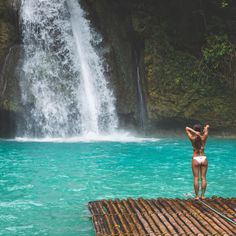 "JACK MORRIS on Instagram: ""A few months ago at Kawasan Falls - Philippines."""